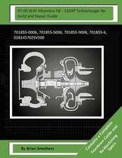 97-00 Seat Alhambra Tdi - 110hp Turbocharger Rebuild and Repair Guide