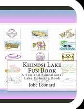 Khindsi Lake Fun Book