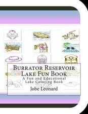 Burrator Reservoir Lake Fun Book
