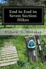 End to End in Seven Section Hikes