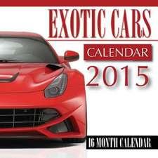 Exotic Cars Calendar 2015