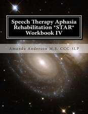 Speech Therapy Aphasia Rehabilitation *Star* Workbook IV
