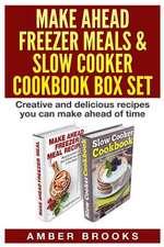 Make Ahead Freezer Meals & Slow Cooker Cookbook Box Set