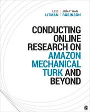 Conducting Online Research on Amazon Mechanical Turk and Beyond
