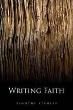 Writing Faith