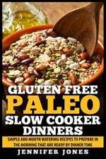 Gluten Free Paleo Slow Cooker Dinners