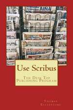 Use Scribus