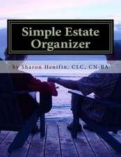 Simple Estate Organizer