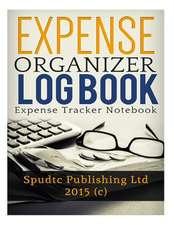 Expense Organizer Log Book
