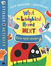 What The Ladybird HeardSticker Book
