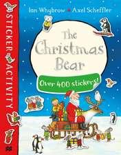 The Christmas Bear Sticker Book