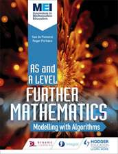 MEI Further Maths: Modelling with Algorithms