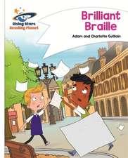 Guillain, A: Reading Planet - Brilliant Braille - White: Com