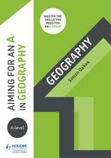 Aiming for an A in A-level Geography