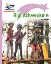 Budgell, G: Reading Planet - Big Adventure - Lilac Plus: Lif