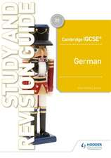Cambridge Igcsea[ German Study and Revision Guide
