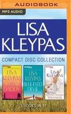 Lisa Kleypas - Travis Book Series Collection:  Sugar Daddy, Blue-Eyed Devil, Smooth Talking Stranger