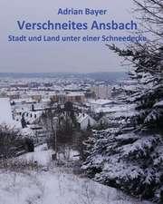 Verschneites Ansbach