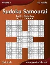 Sudoku Samurai - Da Facile a Diabolico - Volume 1 - 159 Puzzle