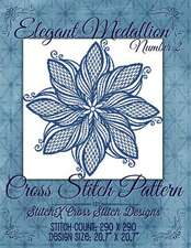 Elegant Medallion 2 Cross Stitch Pattern
