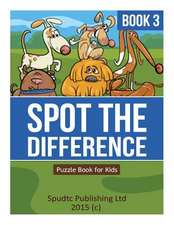 Spot the Difference Book 3