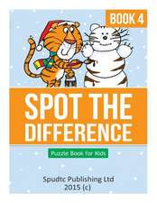 Spot the Difference Book 4