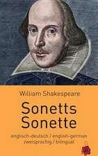 Sonetts / Sonette. Shakespeare. Zweisprachig