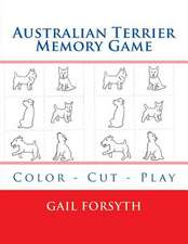 Australian Terrier Memory Game