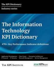 The Information Technology Kpi Dictionary