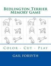 Bedlington Terrier Memory Game
