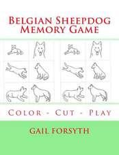 Belgian Sheepdog Memory Game