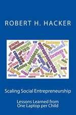 Scaling Social Entrepreneurship
