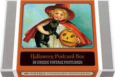 Halloween Postcard Box - 36 Unique Vintage Postcards: Halloween Boxed Postcard Set