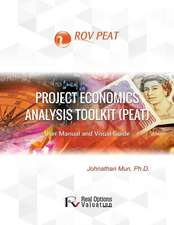 Project Economics Analysis Tool (Peat)