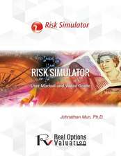 Risk Simulator User Manual