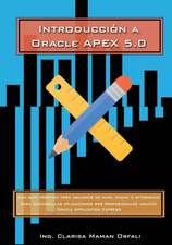 Introduccion a Oracle Application Express 5.0