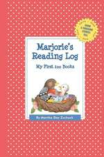 Marjorie's Reading Log:  My First 200 Books (Gatst)