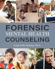 Forensic Mental Health Counseling