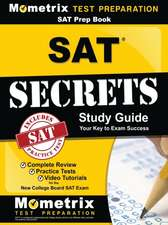 SAT Prep Book:  Complete Review, Practice Tests, Video Tutorials for the New College Board SAT Exam