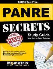 Panre Prep Review Panre Secrets Study Guide