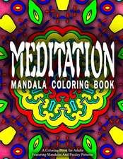 Meditation Mandala Coloring Book - Vol.3