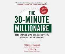 The 30-Minute Millionaire:  The Smart Way to Achieving Financial Freedom