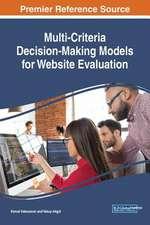 Multi-Criteria Decision-Making Models for Website Evaluation