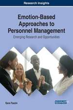 Emotion-Based Approaches to Personnel Management