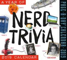 Year of Nerd Trivia Page-A-Day Calendar 2019