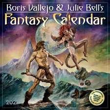 Boris Vallejo and Julie Bell's Fantasy Wall Calendar 2021
