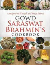 Gowd Saraswat Brahmin's Cookbook
