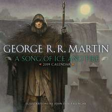 2019 A Song Of Ice And Fire Calendar