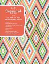 Posh: Organized Living Dazzling Diamonds 2019-2020 Monthly/Weekly Diary Planner