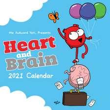 Heart and Brain 2021 Wall Calendar